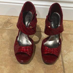 Gianni Bini red heels
